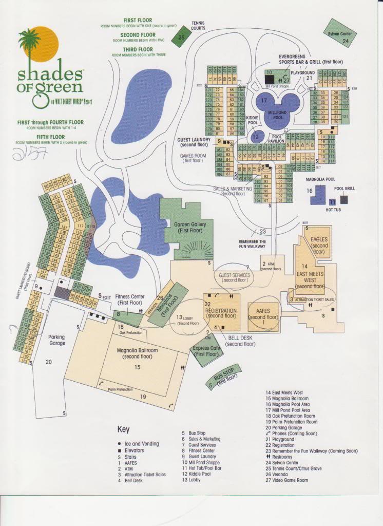 shades of green resort layout. Black Bedroom Furniture Sets. Home Design Ideas