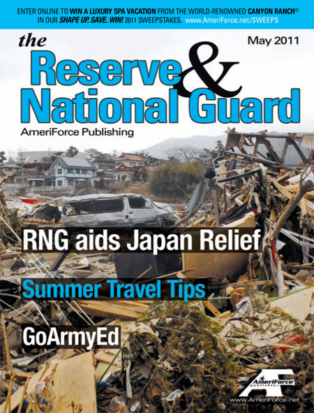 Military Disney Tips in the Reserve & National Guard Magazine