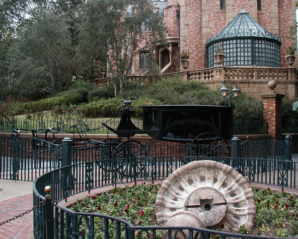 The Haunted Mansion in Disney World's Liberty Square
