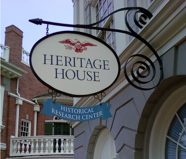 Heritage House in Disney World's Liberty Square