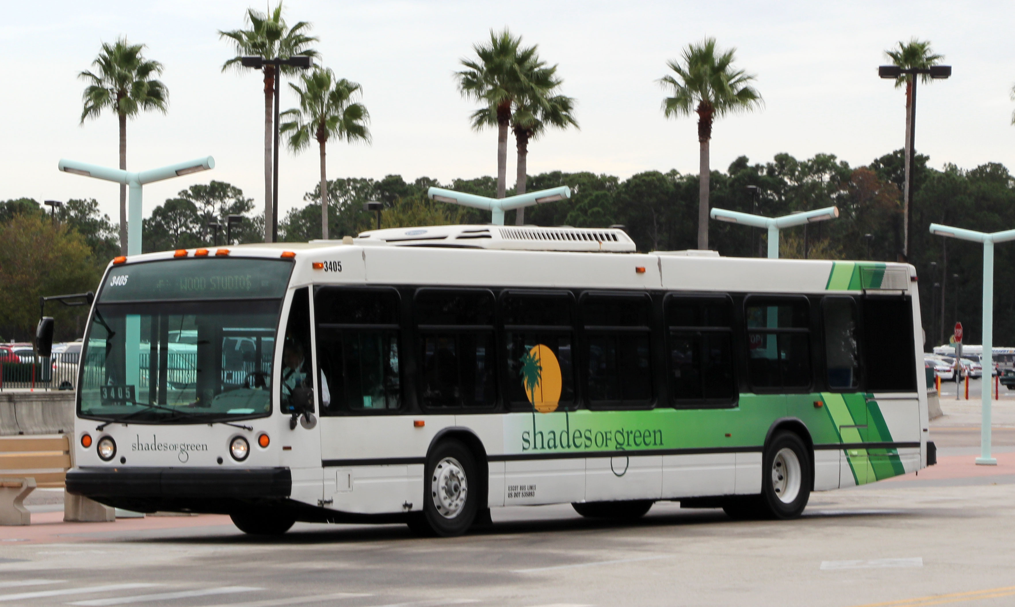Shades of Green Bus Service