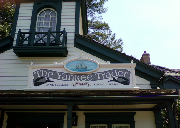 the Yankee Trader in Disney World's Liberty Square