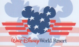 Disney Armed Forces Salute Ticket