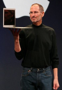 Steve Jobs the Walt Disney's largest shareholder dies - Wikipedia CC License