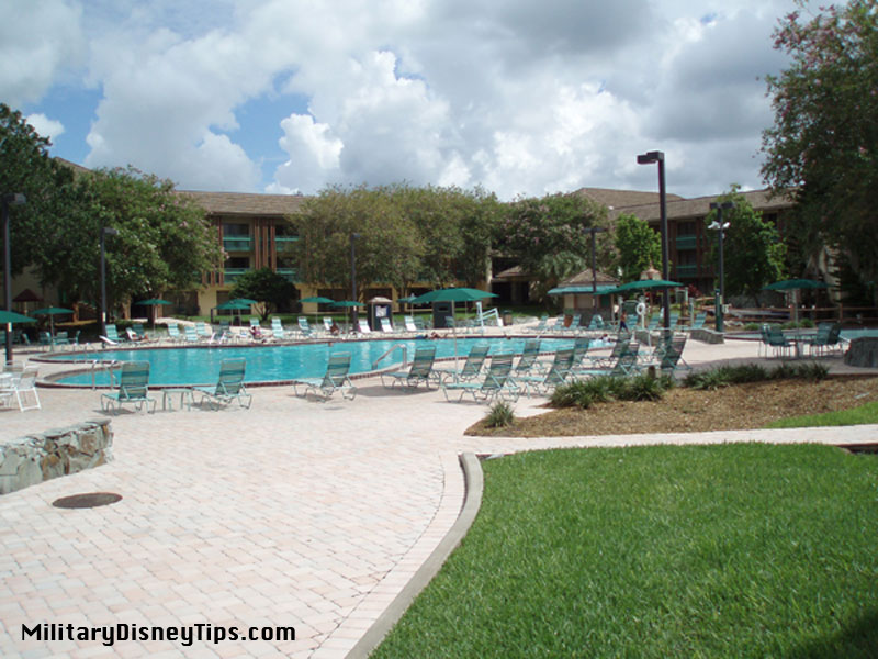 Shades of Green Mill Pond Pool