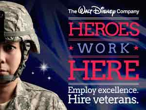 Disney's Heroes Work Here Program