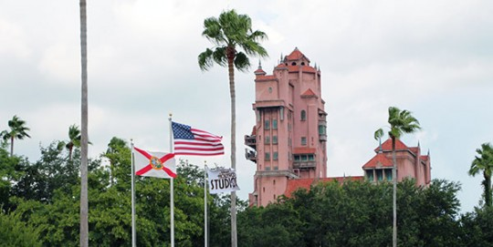 Disney Hollywood Studios Flags
