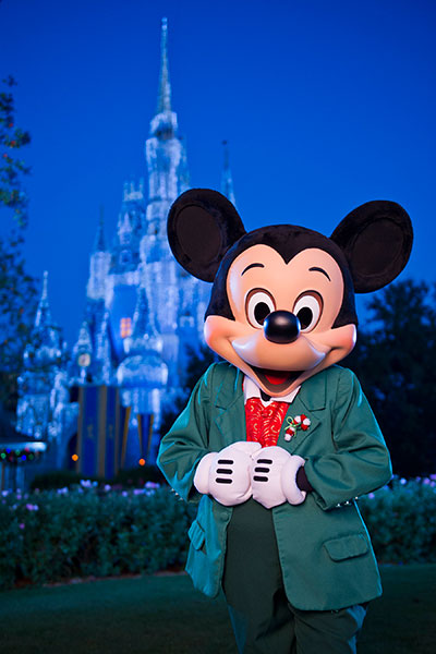 Mickey's Very Merry Christmas Party Military Tickets