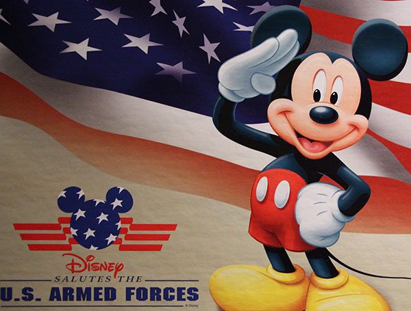 Use Disney's Armed Forces Salute Multiple Times!