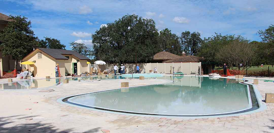 Shades of Green Magnolia Pool Update