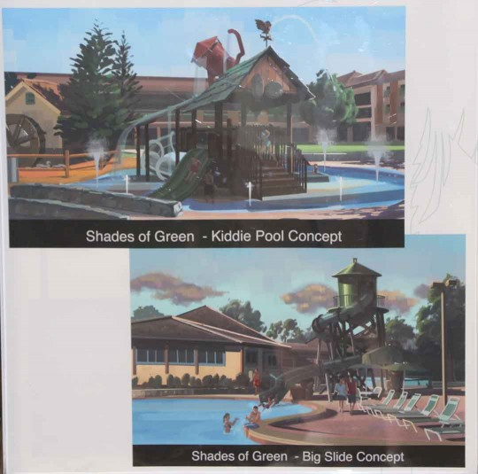 Shades of Green Kids Splash Area