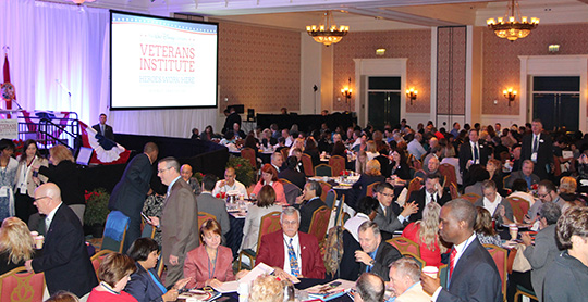 Disney's Veteran's Institute Attendees
