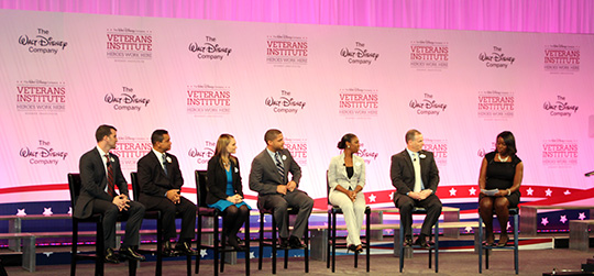 Disney's Veteran's Institute - Cast Member Panel