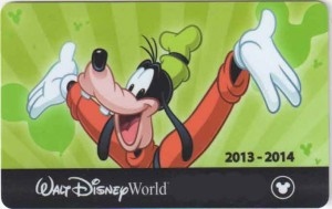 Disney RFID Ticket