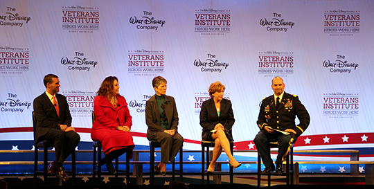 Disney's Veteran's Institute VIP Panel