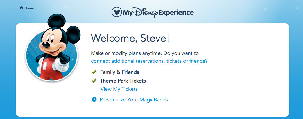 Link Disney Armed Forces Salute Paper Vouchers to your My Disney Experience Account