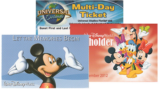 Military Discount Theme Park Tickets