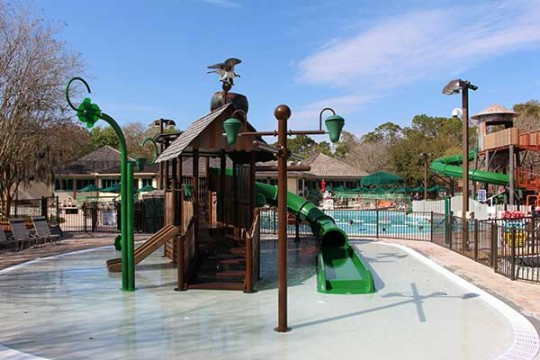Mill Pond Splash Area