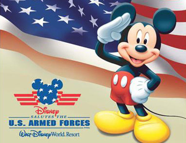 Disney Armed Forces Salute for Civilians