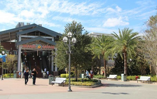 Disney-Springs-High-Tech-Parking-Exterior