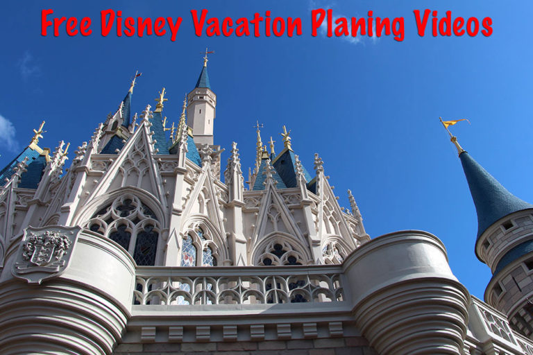 Get Your Free Disney Parks Vacation Planning Videos Directly From Disney