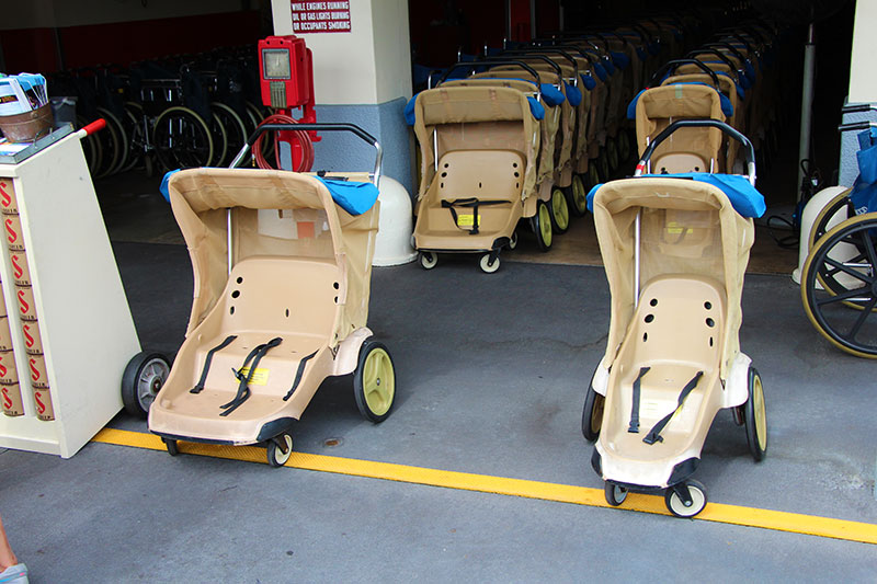Military Discount on Walt Disney World Strollers