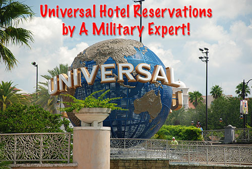 Use a Military Expert for your Universal Studios Vacation at No Extra Cost!
