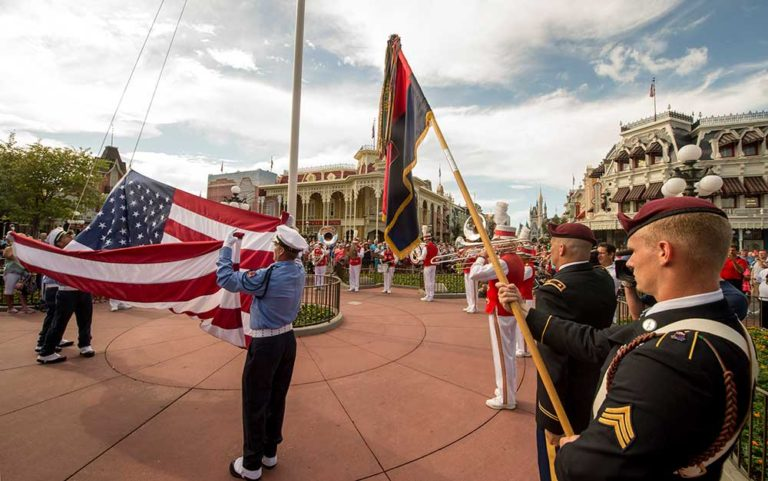 Walt Disney World Flag Retreat Ceremony