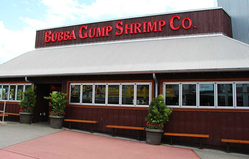 Universal Orlando Military Discount Bubba Gump Shrimp