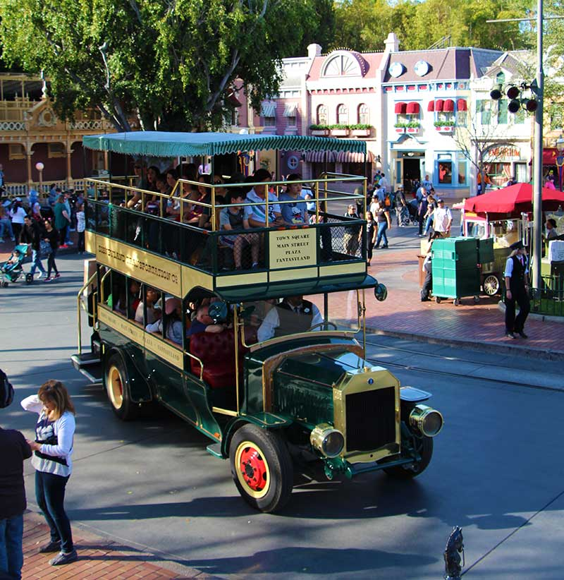 Disneyland Main Street Vehicles