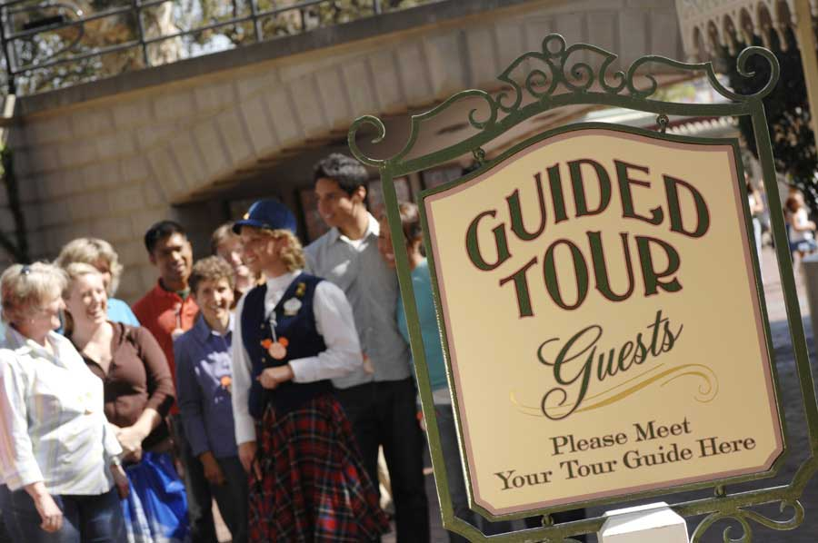 (C) Disney - Disneyland Guided Tours