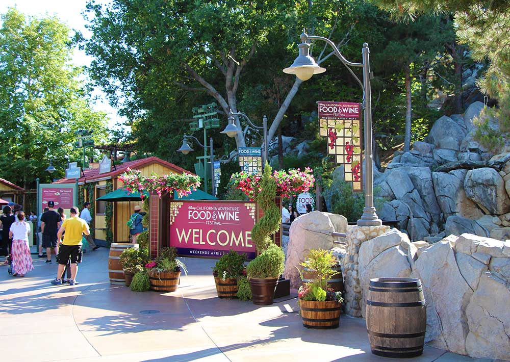 California Adventure Food and Wine Festival