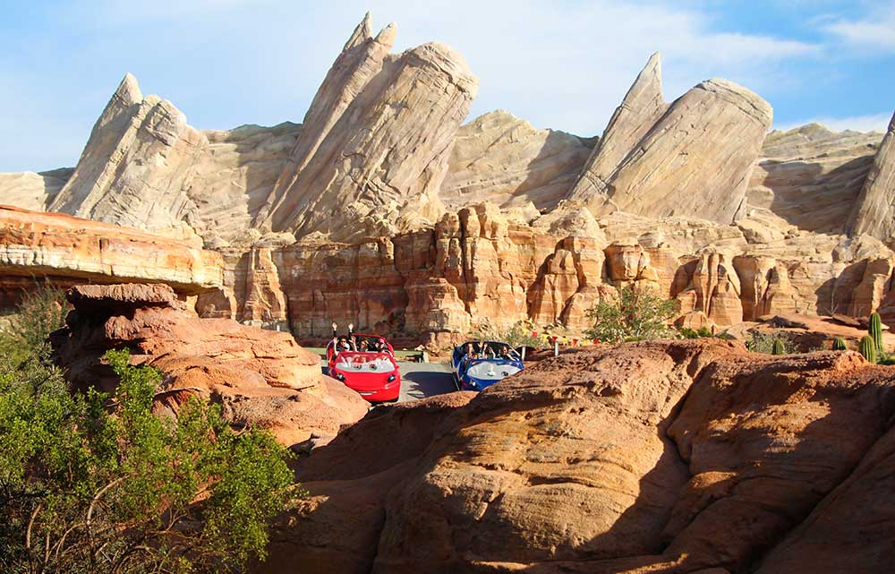 Disneyland Fun - Radiator Springs Racers