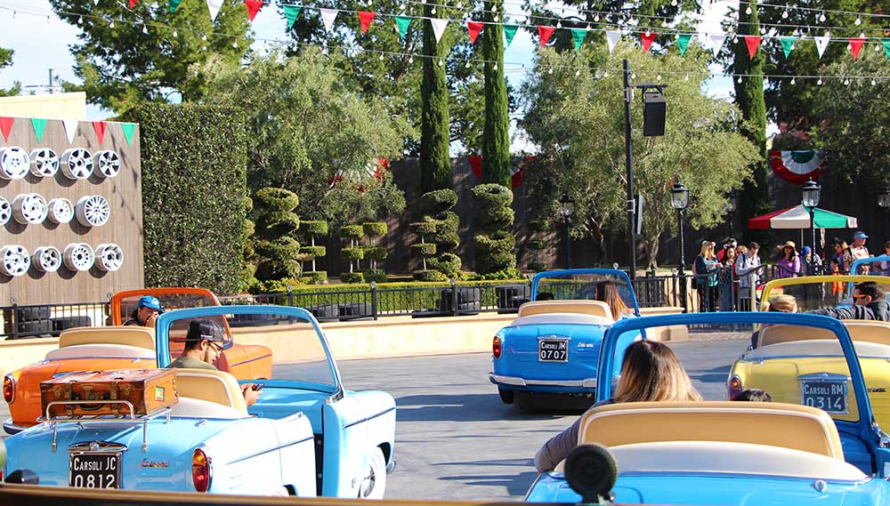 Disneyland Theme Park Parking Explained