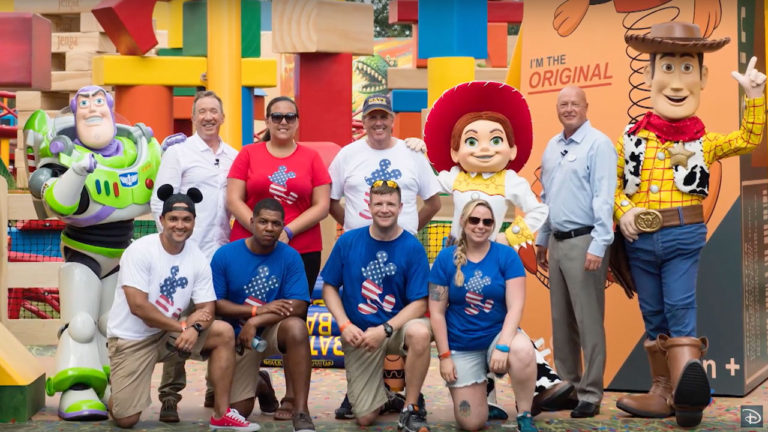 Toy Story Land Open to Military Families (C) Disney