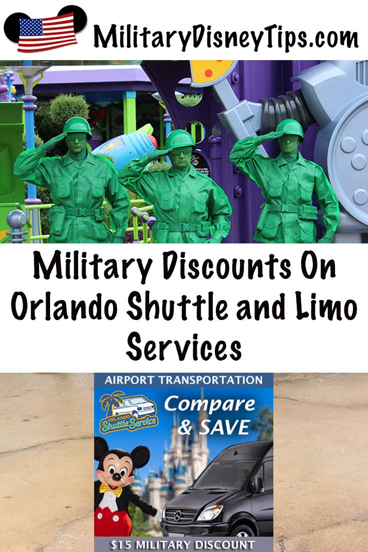 WDW Limo Military Discount
