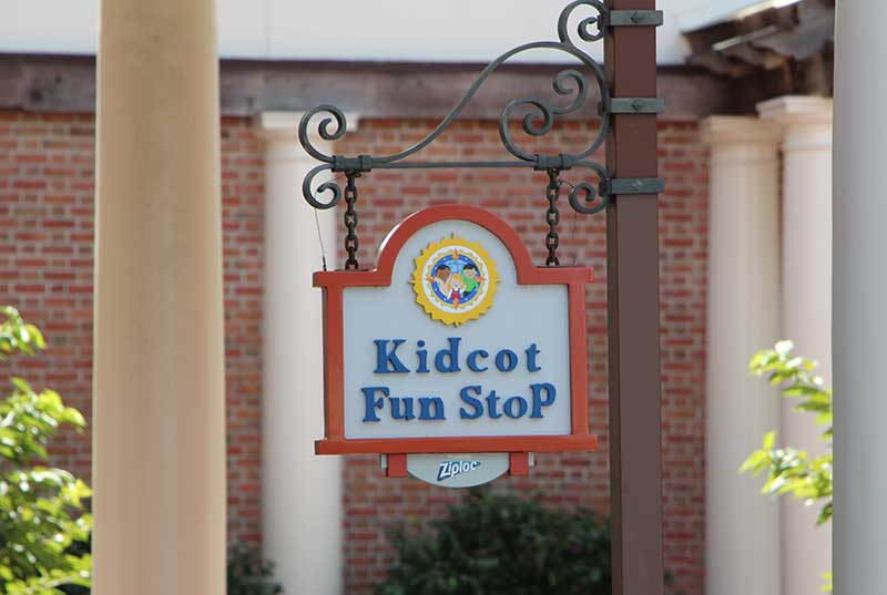 Disney Travel With Kids - Epcot Kidcot Stations