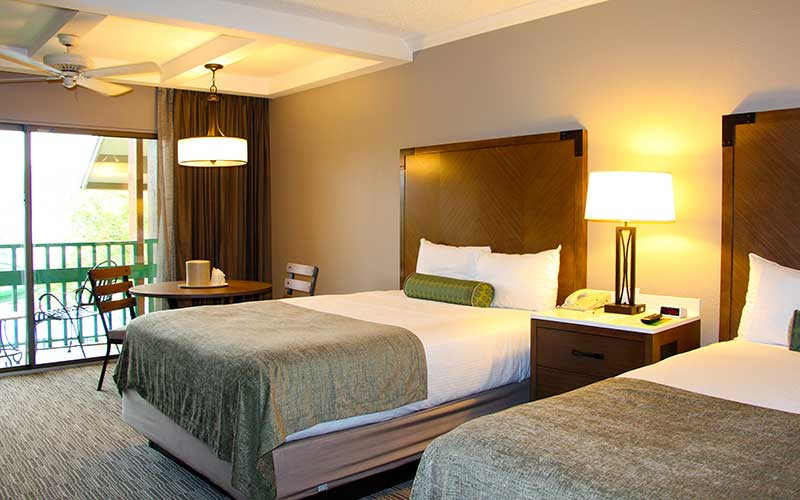 Shades of Green's Standard Guest Rooms