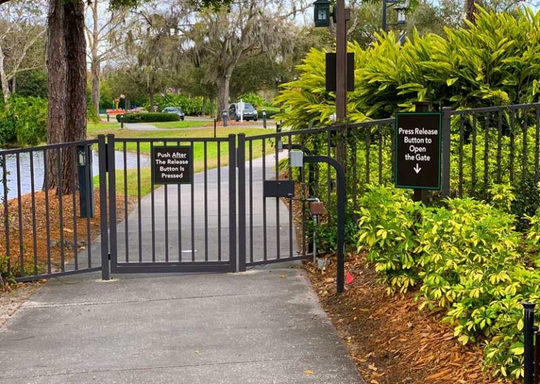 Shades of Green Gets New Security Gate