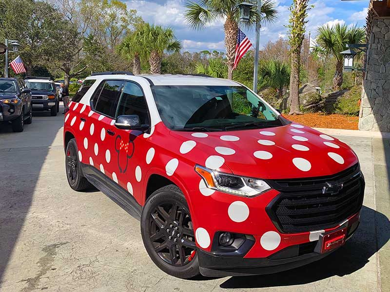 Using Uber, Lyft, and Minnie Vans at Walt Disney World