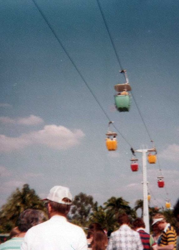 Walt Disney World Skyway Circa 1970s