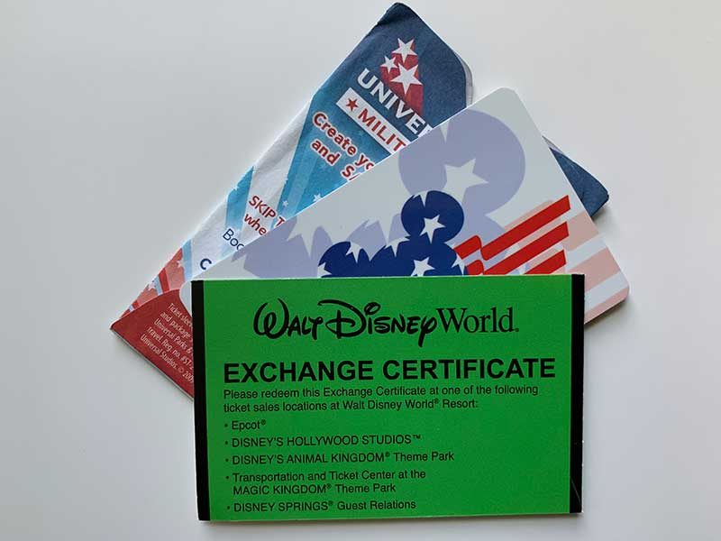 How to Purchase Military Discounted Theme Park Tickets