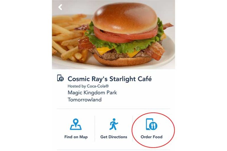 Beat the Lines - Mobile Order at Walt Disney World Counter Service Restaurants