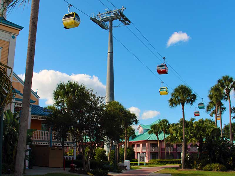Disney World Transportation - Skyliner