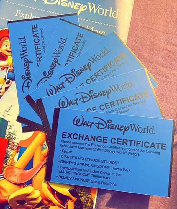 Buy Disney Tickets Long Distance