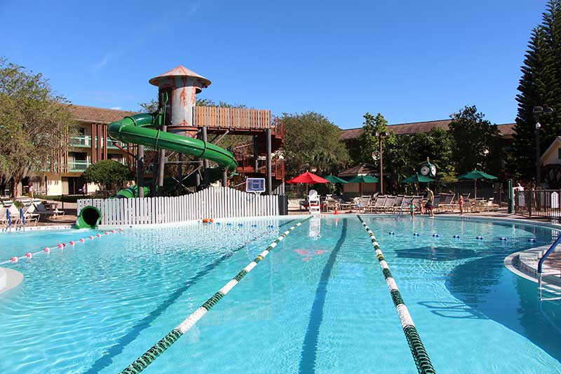 Shades of Green Resort is an Armed Forces Recreation Center
