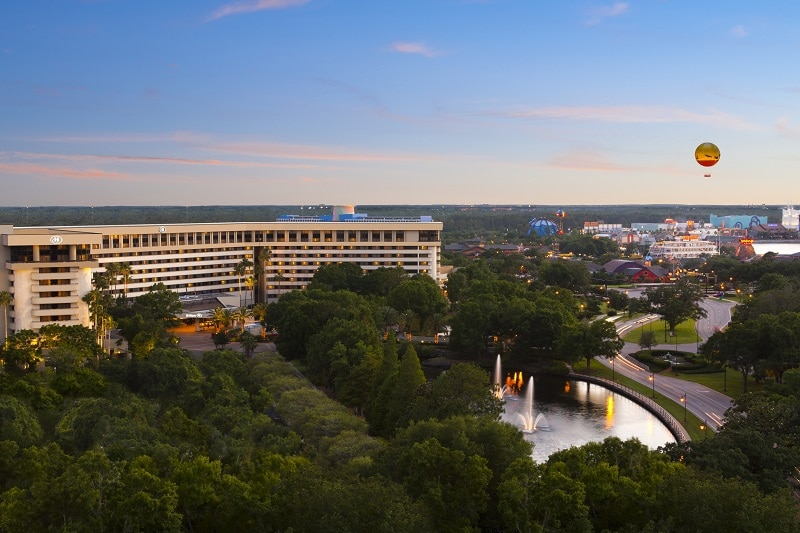 Walt Disney World Disney Springs Area Resorts