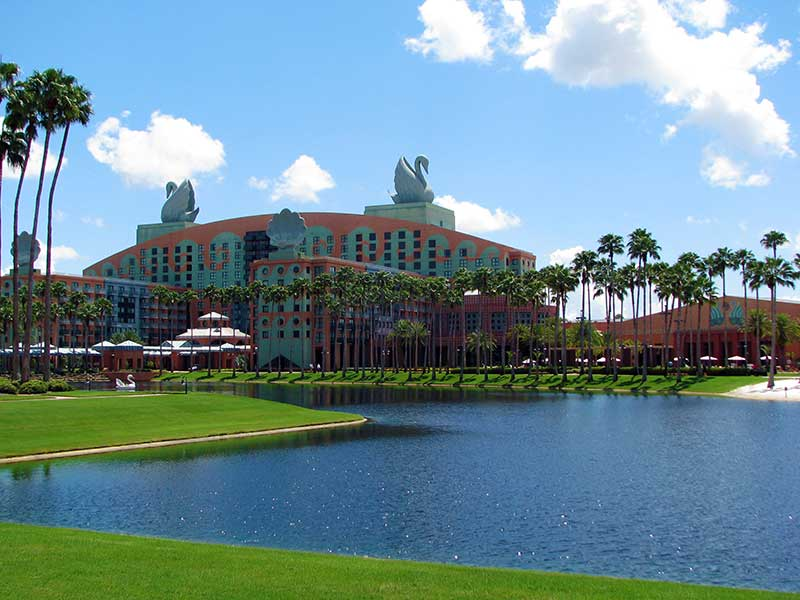 The Walt Disney World Swan and Dolphin Resorts