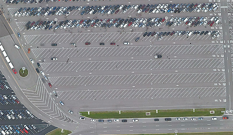 Parking at Disney World Magic Kingdom for Shades of Green Guests