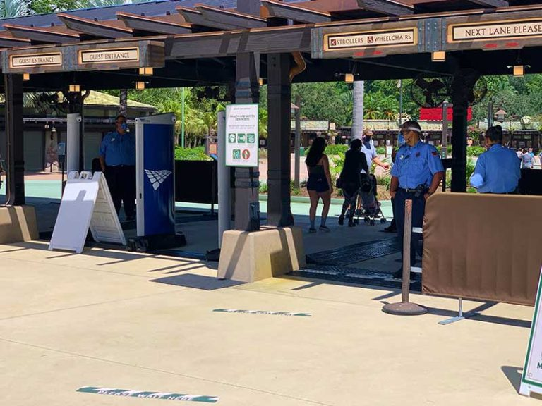 Your Introduction to Disney Resort Destination Security - Plus Some Tips